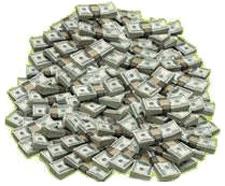 large amount of money