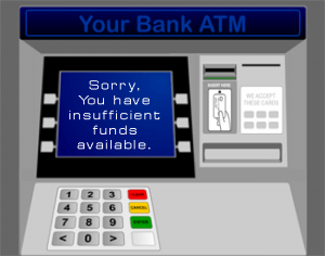 You have insufficient funds
